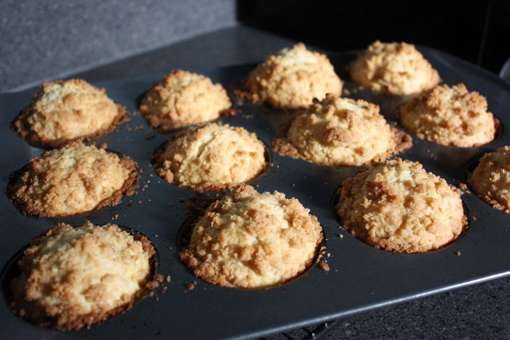 how to make crumb topping for muffins