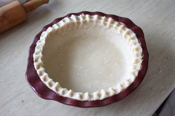 Fluted Pie Crust
